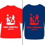 Gepersonaliseerde T-shirts en truien van Chiro Sonneveld